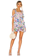 All Things Mochi Ilima Dress in Multi Floral
