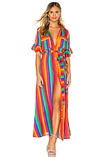All Things Mochi Leilani Dress in Rainbow