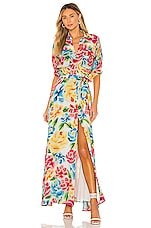 All Things Mochi Marie Dress in Multi Floral