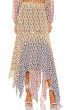 All Things Mochi Elisa Skirt in Multi