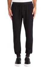 Reverse French Terry Sweatpant in Black