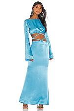 Atoir Belle Ame Dress in Cyan Blue