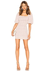 Atoir Fool To Love Dress in Pink Check