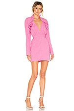 Atoir Two By Two Dress in Fuchsia Pink