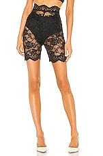 Atoir Only One Shorts in Black Lace