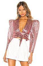 Atoir Close Call Crop Top in Orchid Pink