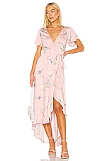 AUGUSTE X REVOLVE Dawn Spencer Muse Maxi Dress in Blush