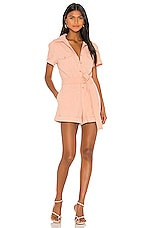 AUGUSTE Patty Playsuit in Blush