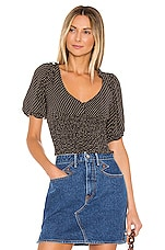 AUGUSTE Pippi Juliette Blouse in Charcoal