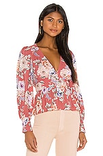 AUGUSTE Pascal Sonnet Blouse in Rose