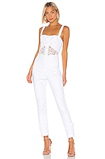 Alexis Govada Jumpsuit in White