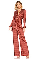 Alexis Shona Jumpsuit in Rouge Rolo