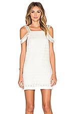 Alexis Jasmine Dress in Geo White