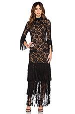 Alexis Jade Dress in Black Lace