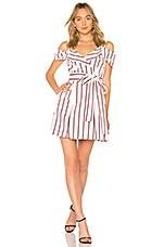 Alexis Edrea Dress in Nautical Stripe