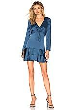 Alexis Hylda Dress in Steel Blue