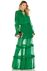 Alexis Sinclair Dress in Green