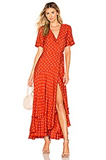 Alexis Sundara Dress in Mandarin Shell
