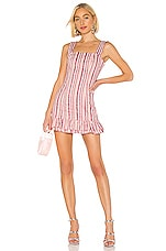 Alexis Brandy Dress in Rose Stripe