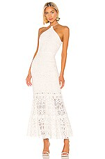 Alexis Yvonna Dress in White