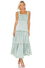 Alexis Milada Dress in Aquarelle Mist