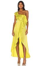 Alexis X REVOLVE Hadda Dress in Neon Yellow