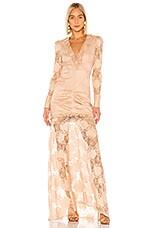 Alexis Lucasta Dress in Sand