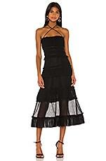 Alexis Angelia Dress in Black