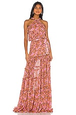 Alexis Genevra Dress in Rose Floral