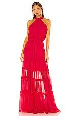 Alexis Lorinda Dress in Azalea Pink