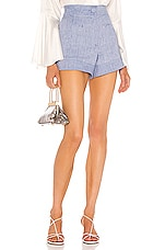 Alexis Garwen Shorts in Light Blue