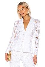 Alexis Durham Blazer in White