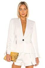 Alexis Vaska Blazer in White