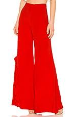 Alexis Teri Pant in Red