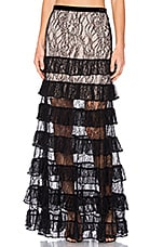 Vicky Skirt in Black Lace