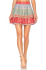 Zowie Skirt in Multicolor Lace