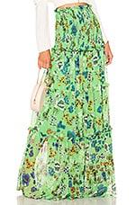 Alexis Roshan Skirt in Eden Floral Green