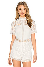 Blayze Top en White Lace