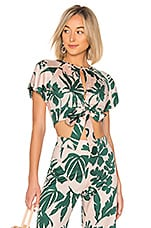 Alexis Lali Top in Tropical Blush