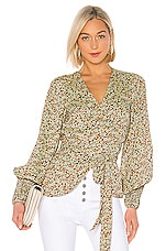 Alexis Rourke Top in Sienna Floral