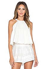 Medeia Flared Top en Blanc