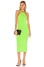 ALIX NYC Jay Dress in Electric Green
