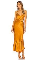 ALIX NYC Seneca Dress in Saffron