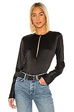 ALIX NYC Suffolk Bodysuit in Black