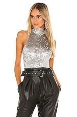 ALIX NYC Cannon Bodysuit in Platinum