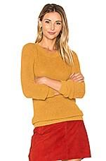 Anki V Neck Sweater in Mustard