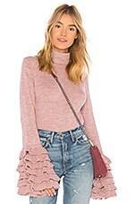 AYNI Tania Turtleneck Sweater in Rose