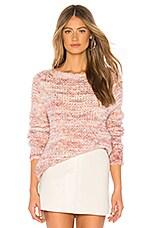 AYNI Isla Oversized Sweater in Pastel Multicolor