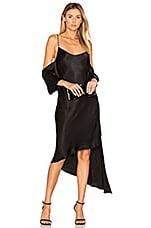 Backstage Giselle Dress in Black