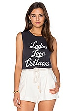 T-SHIRT SANS MANCHES LADIES LOVE OUTLAWS